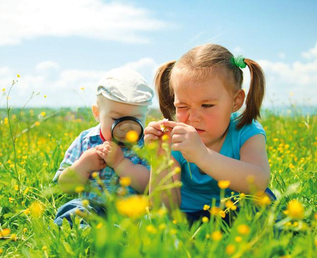 Дети - исследователи от природы