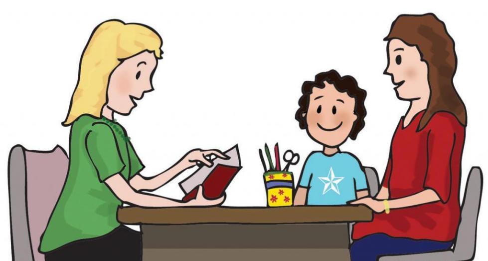 учительница и ребенок