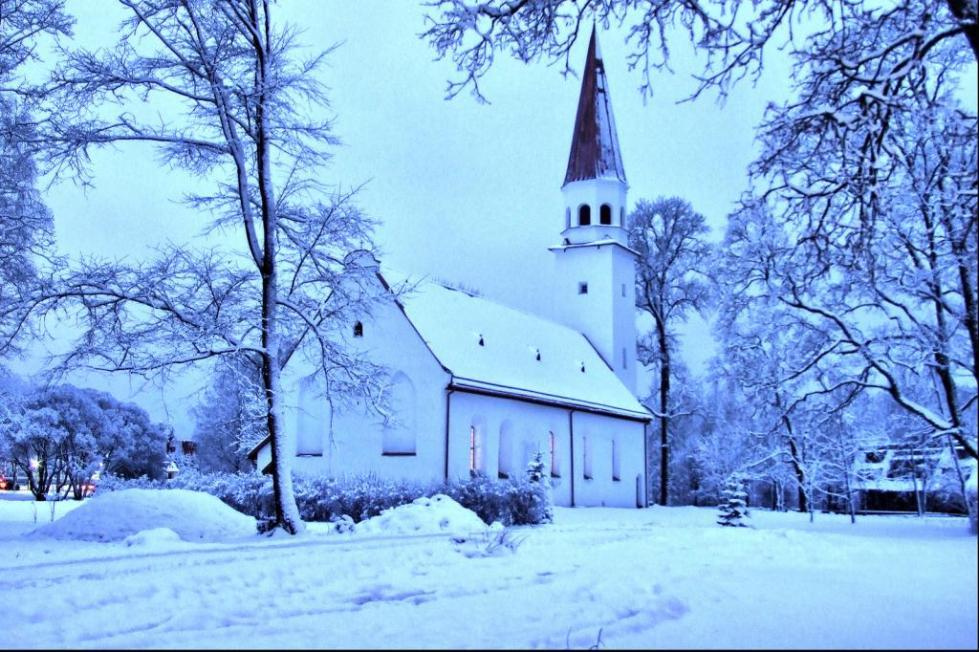 Зимняя Сигулда