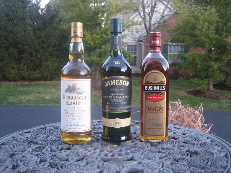 История ирландского виски