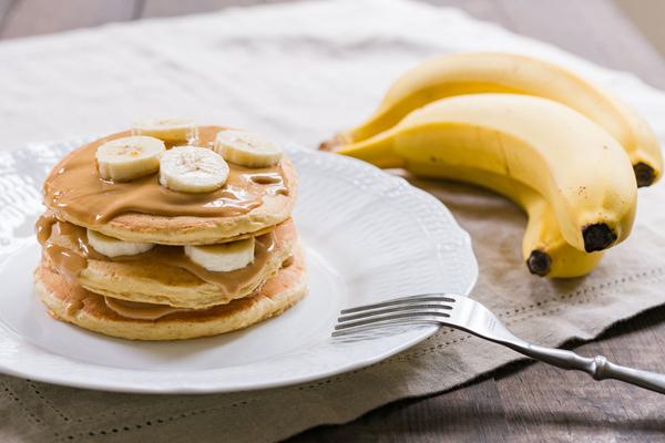 Овсяные блины с бананами