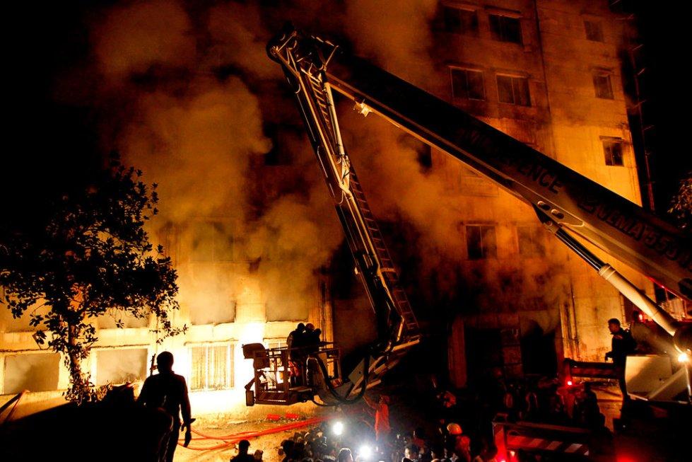 Действия во время пожара
