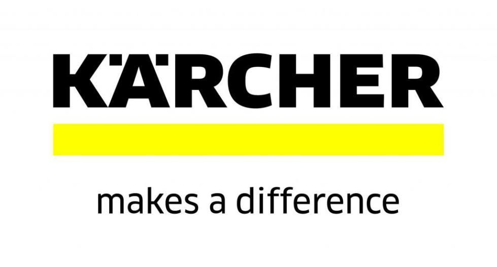 Логотип фирмы Karcher