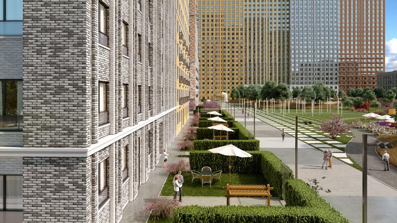 архитектура жилого комплекса