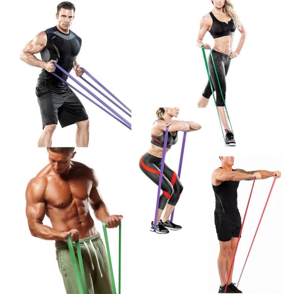 комплекс упражнений с резиновыми петлями для мужчин