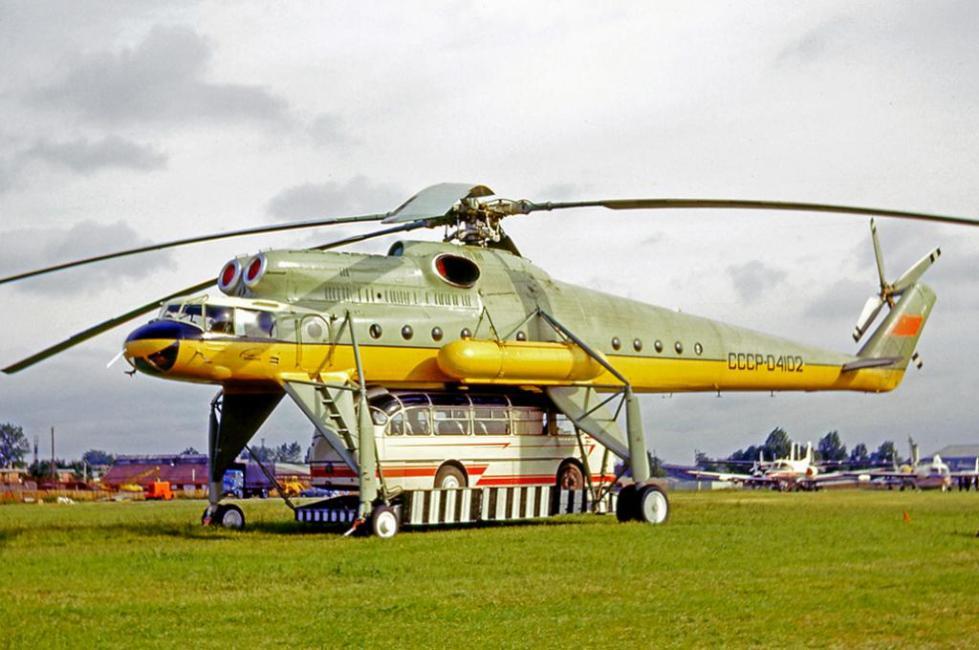 Ми-10 с грузом