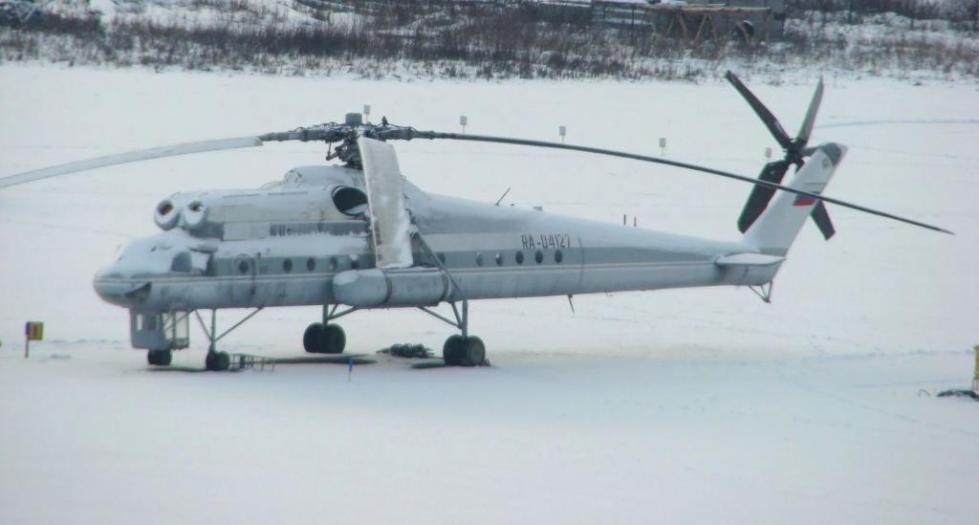 Ми-10 на земле