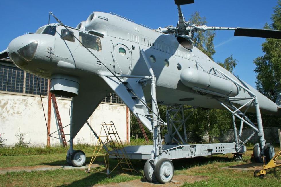 Ми-10 в авиацентре
