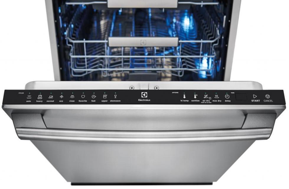 Панель индикации посудомоечной машины