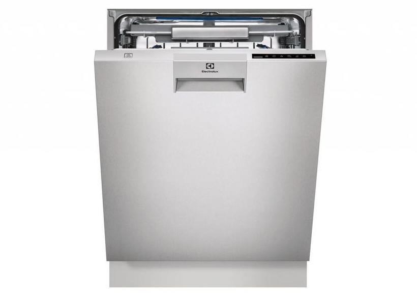 Внешний вид встраиваемой посудомоечной машины