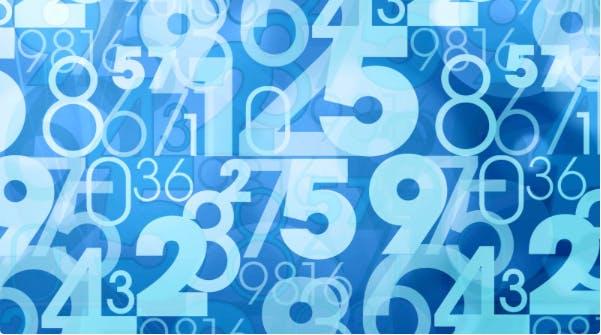 повторяющиеся числа