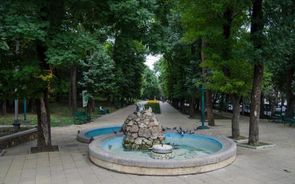 Курортный парк в Ессентуках