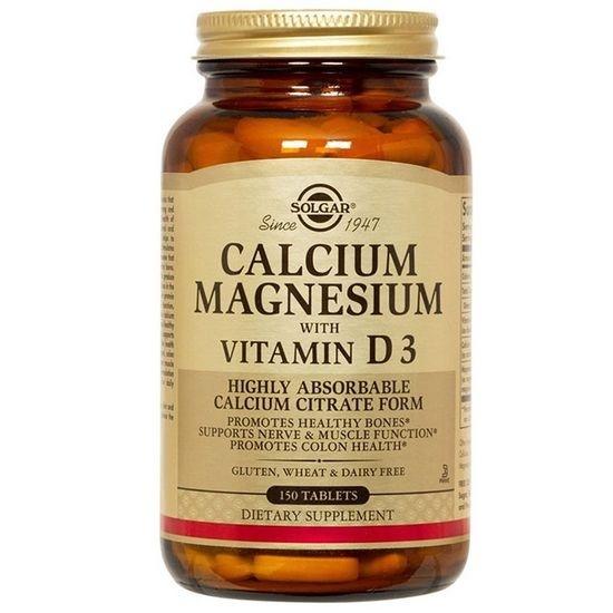 солгар кальций магний с витамином д3 отзывы