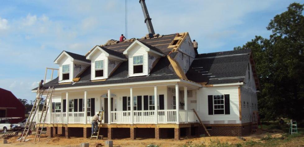 Модульный построенный дом
