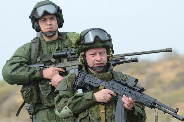 бойцы российского спецназа