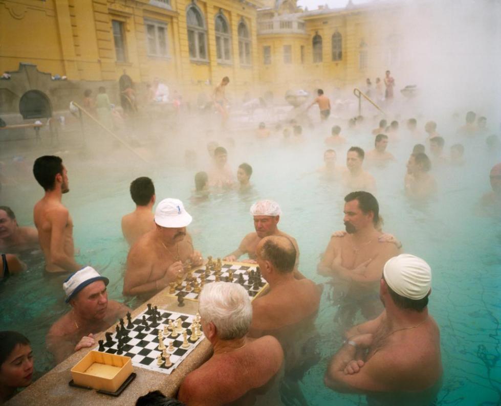 Из Szechenyi thermal baths. 1997