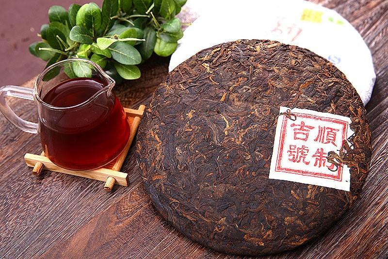 Китайский черный чай Пуэр
