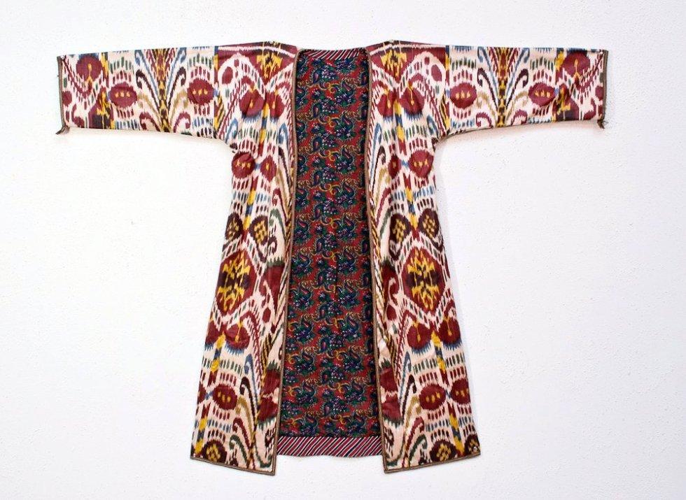 чапан узбекский