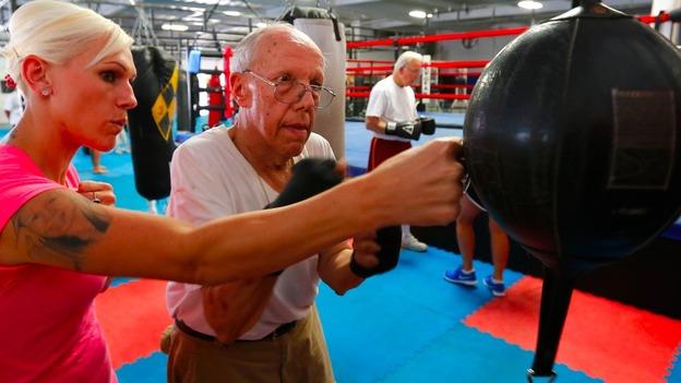 Пенсионер и тренер