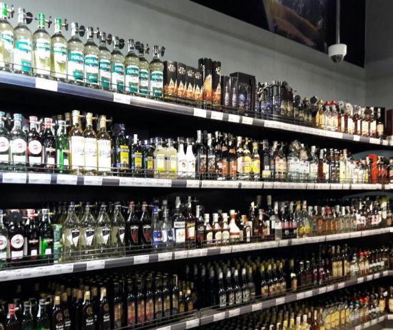 Магазин с алкоголем