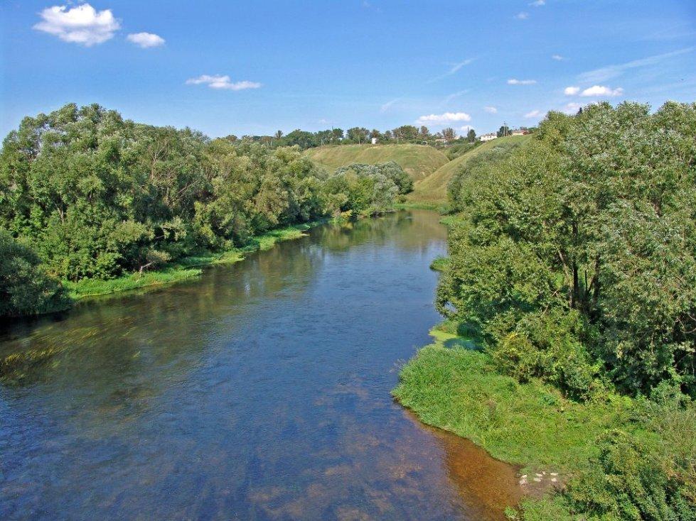 фото реки Зуша