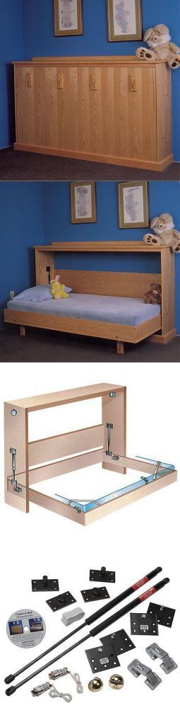 Раскладная кровать-тумба для детей