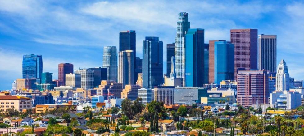 Лос Анджелес карта районов