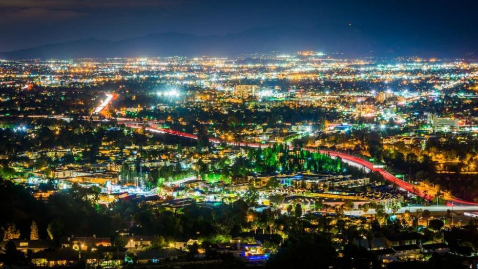 спальные районы Лос Анджелеса