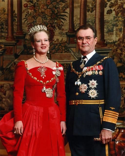 Датская королева и консорт