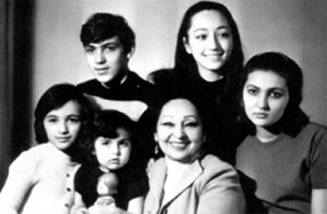 Семья Таира Салахова