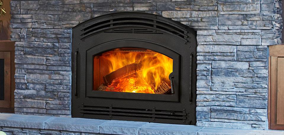 Камин для отопления дома на дровах