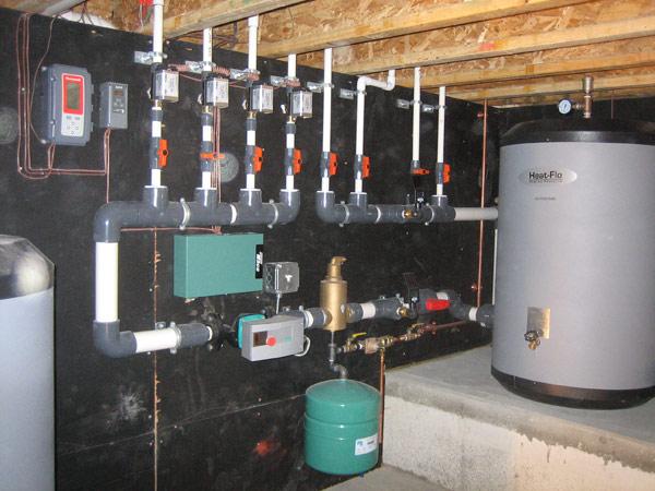 Бойлер горизонтальной системы отопления