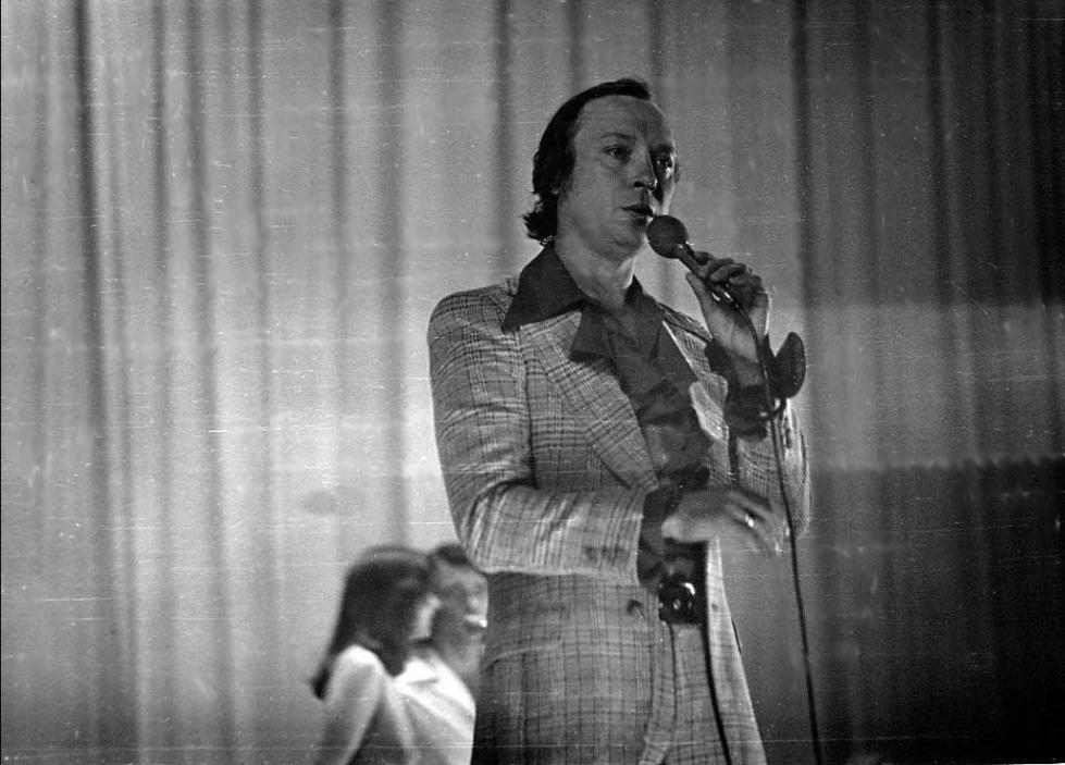 Валерий Ободзинский на гастролях