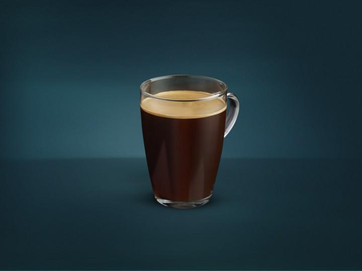 Кофе американо без сахара