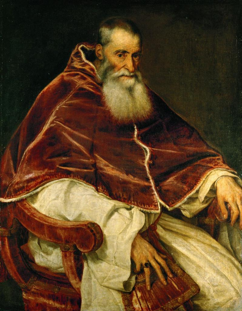 Тициан. Портрет Павла III