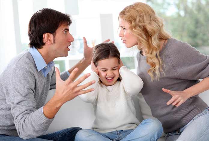 скандал в семье