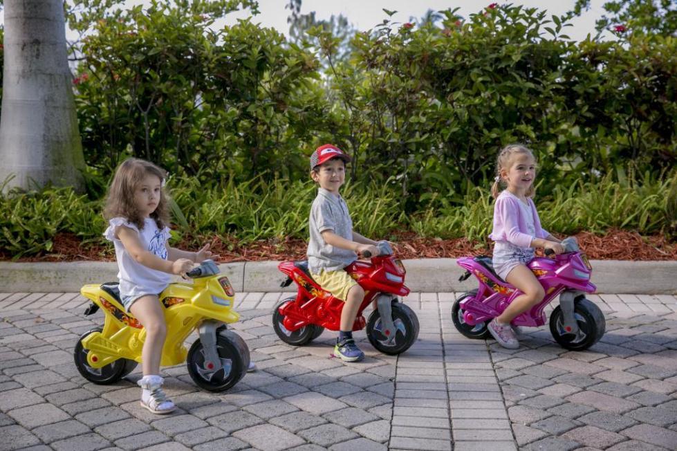 дети на мотоциклах