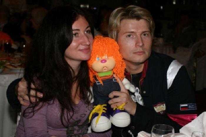 Басков с бывшей женой