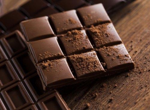 Плитка, какао порошок
