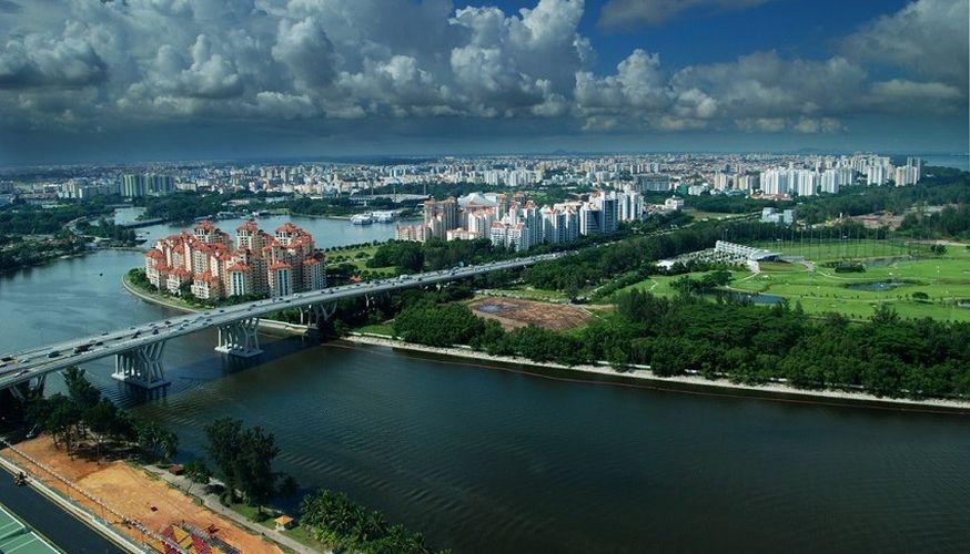 облачность в Сингапуре