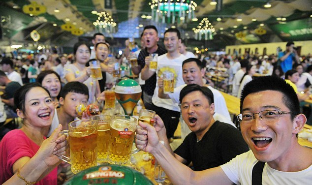 Пивной фестиваль в Китае