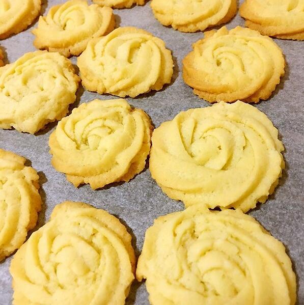 сливочное печенье своими руками