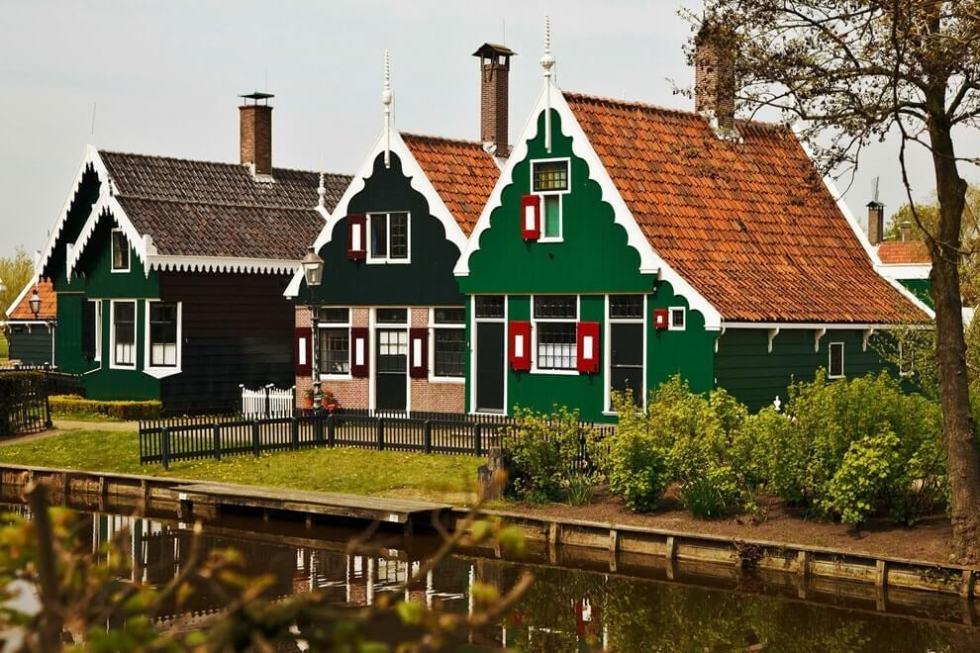 домики в Нидерландах