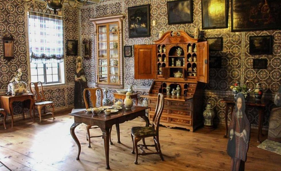 гостиная голландского домика