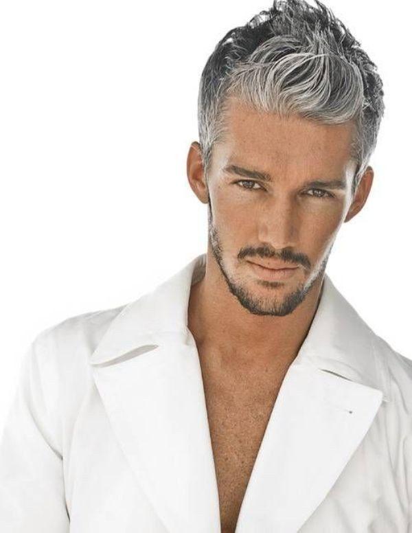 пепельный цвет волос мужчины как сделать