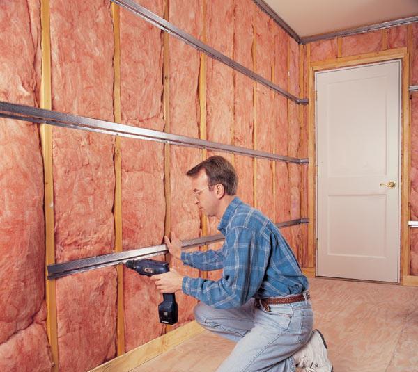 Шумоизоляция стен в доме современные материалы