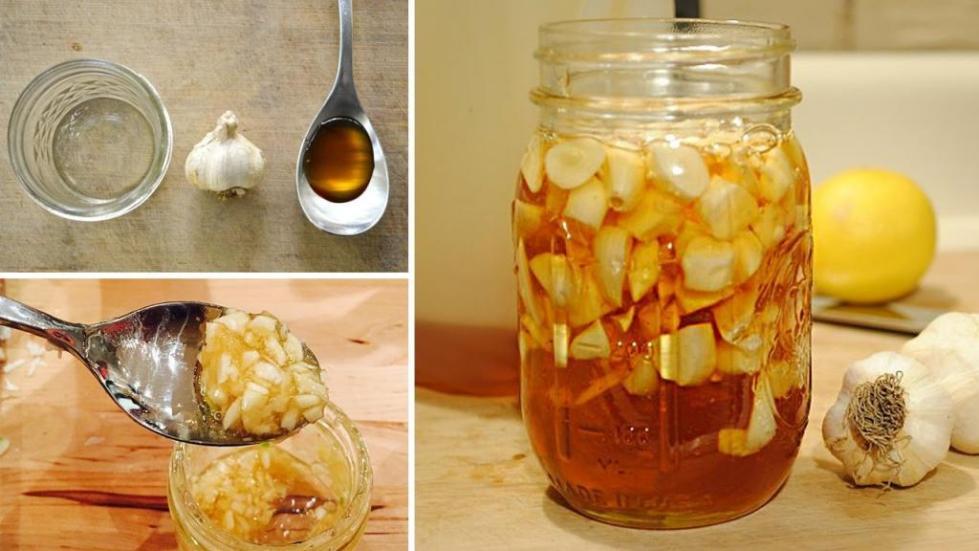 лимон чеснок мед льняное масло