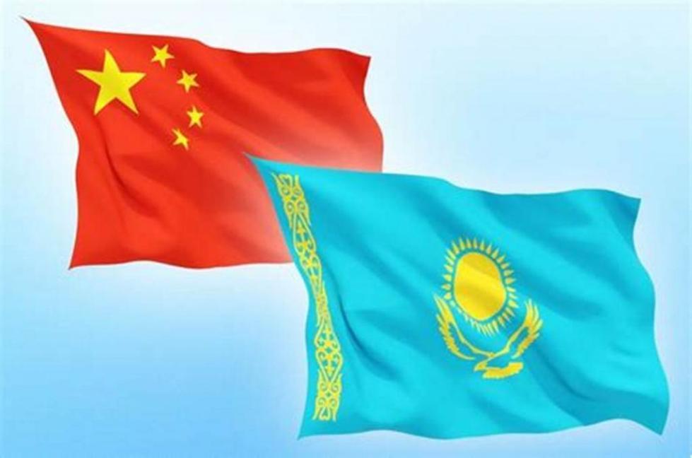 флаги кнр и казахстана