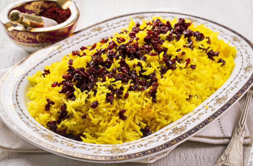 Рис с барбарисом
