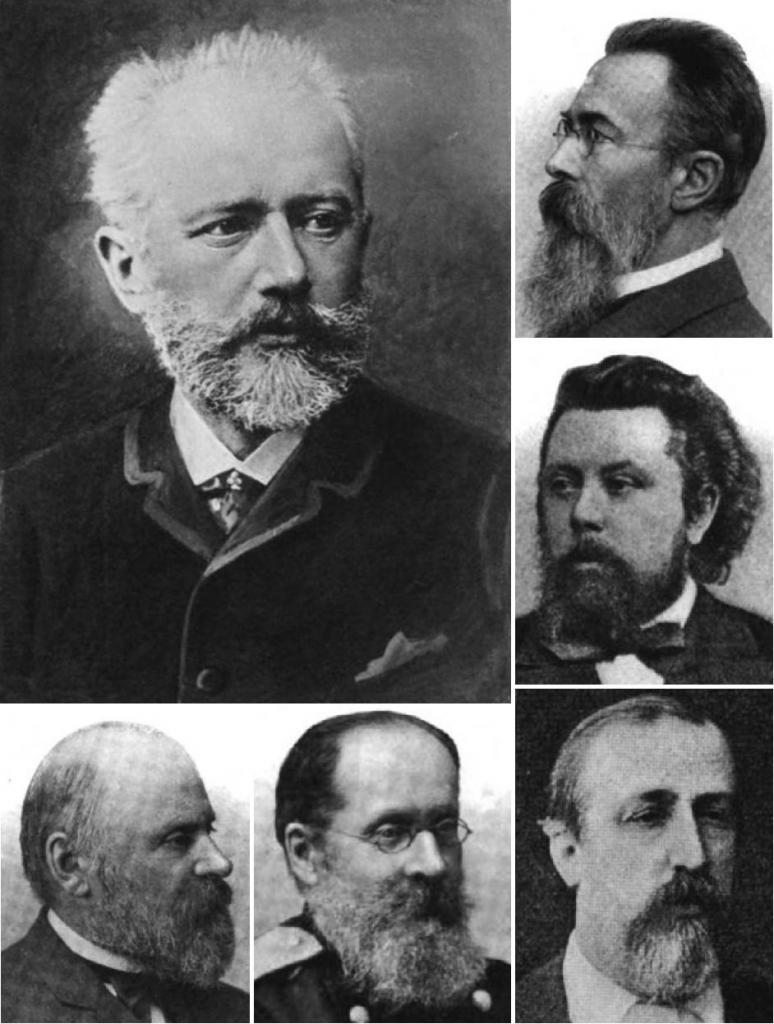 Русские композиторы.